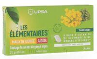 Les Elémentaires Sans Sucre Pastilles Maux De Gorge Aigus Menthe B/20