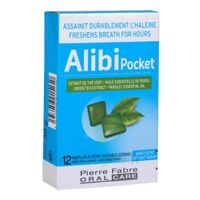 Pierre Fabre Oral Care Alibi Pocket 12 pastilles