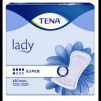 Tena Lady Protection Anatomique Adhésive Super Sachet/30
