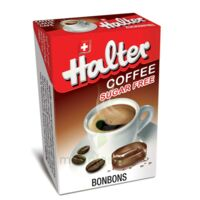 Bonbons sans sucre Halter café