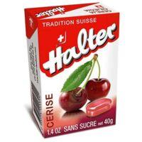 Bonbons sans sucre Halter cerise