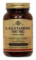 SOLGAR L-GLUTAMINE 500mg, 50 GEL VEG