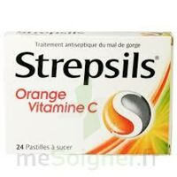STREPSILS ORANGE VITAMINE C, pastille