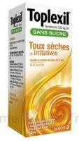 Toplexil 0,33 Mg/ml Sans Sucre Solution Buvable 150ml