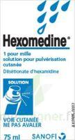 HEXOMEDINE 1 POUR MILLE, solution pour pulvérisation cutanée en flacon pressurisé