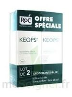 KEOPS DEODORANT BILLE PEAUX FRAGILES lot de 2