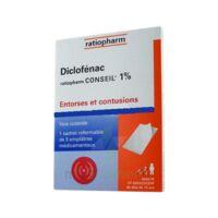 Diclofenac Ratiopharm Conseil 1 %, Emplâtre Médicamenteux