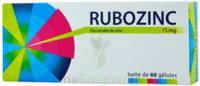 RUBOZINC 15 mg Gél 1Plq/60