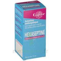 HEXASEPTINE 0,1 POUR CENT, solution pour application cutanée en flacon