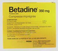 BETADINE 350 mg Compr imprégnée B/50
