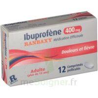 IBUPROFENE RANBAXY MEDICATION OFFICINALE 400 mg, comprimé pelliculé