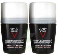 VICHY ANTI-TRANSPIRANT HOMME Bille anti-trace 48h LOT