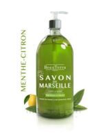 Beauterra - Savon de Marseille liquide - Menthe/Citron 1L