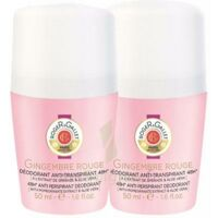 Roger Gallet déodorant 48h Gingembre rouge x2