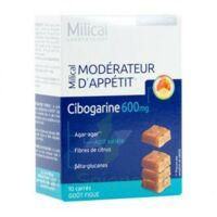 Milical Modérateur d'Appétit Cibogarine 600 mg 10 Carrés
