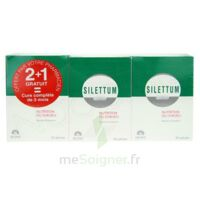 SILETTUM NUTRITION DU CHEVEU 60 X2 + 60 OFFERTES