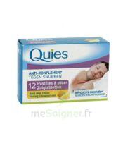 QUIES Past à sucer anti-ronflement miel citron B/12
