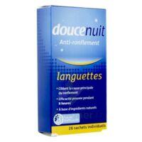 DOUCENUIT ANTIRONFLEMENT LANGUETTES, sachet 28