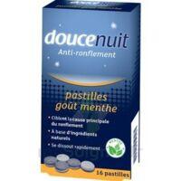 DOUCENUIT ANTIRONFLEMENT PASTILLES à la menthe, bt 16