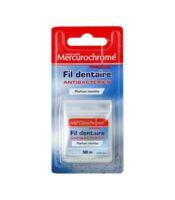 Mercurochrome Fil Dentaire Antibactérien 50m