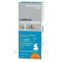 B.CONCEPT NUTRI Complex Multivitamines Sirop enfant Fl/150ml