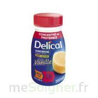 DELICAL BOISSON HP HC CONCENTREE Nutriment vanille 4Bouteilles/200ml