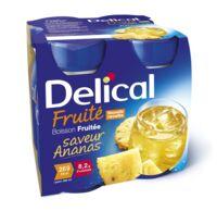 DELICAL BOISSON FRUITEE Nutriment ananas 4Bouteilles/200ml