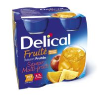 DELICAL BOISSON FRUITEE Nutriment multi fruits 4Bouteilles/200ml
