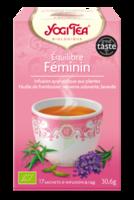 Yogi Tea Tisane Ayurvédique Equilibre Féminin Bio 17 Sachets/1,8g