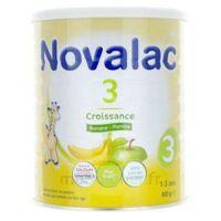 NOVALAC 3 Lait de croissance Banane Pomme B/800g