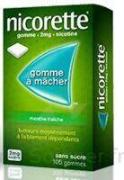 NICORETTE 2 mg Gom à mâcher médic sans sucre menthe fraîche Plq/30gom