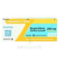 IBUPROFENE ZENTIVA CONSEIL 200 mg, comprimé pelliculé