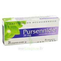 PURSENNIDE 20 mg, comprimé enrobé