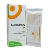 CROMADOSES 2 POUR CENT, collyre en solution en récipient unidose