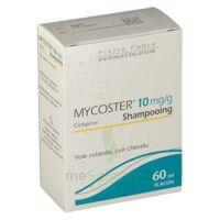 MYCOSTER 10 mg/g Shampooing Fl/60ml
