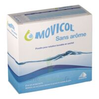 MOVICOL SANS AROME, poudre pour solution buvable en sachet