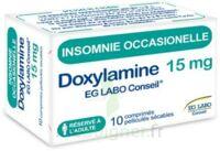 DOXYLAMINE EG LABO CONSEIL 15 mg, comprimé pelliculé sécable