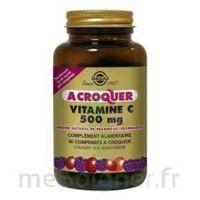 Solgar Vitamine C 500 mg à croquer framboise/cranberry