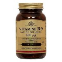 Solgar Vitamine B9 (Acide Folique) 400 µg Tablets