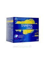Tampax Compak Régulier tampon flux normal