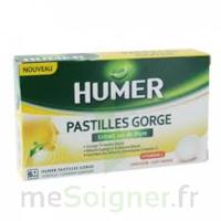 HUMER PASTILLE GORGE à l'etrait sec de thym 24 pastilles