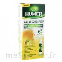 HUMER MAL DE GORGE AIGU