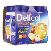 DELICAL BOISSON FRUITEE Nutriment pomme 4Bouteilles/200ml