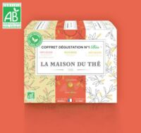 LA MAISON DU THE, Coffret dégustation n°1 Bio