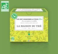 LA MAISON DU THE, Thé vert gingembre & citron Bio