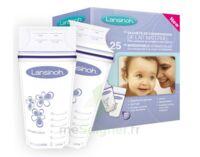 LANSINOH Sachets de Conservation pour Lait Maternel - 25 sachets