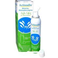 ACTISOUFRE Solution pour pulvérisation buccale/nasale en flacon pressurisé Fl press/100ml
