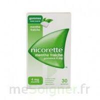 NICORETTE 4 mg Gom à mâcher médic sans sucre menthe fraîche Plq/30gom