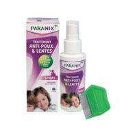 Paranix Solution antipoux Huiles essentielles 100ml+peigne