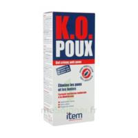 Item K.O. Poux Gel crème anti-poux 100ml+peigne fin